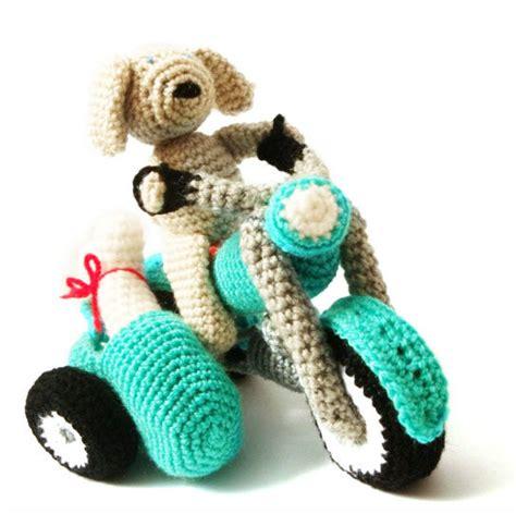 amigurumi motorcycle pattern motorcycle dog crochet amigurumi pattern