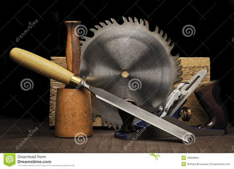 woodworking tools stock photo image  chisel making