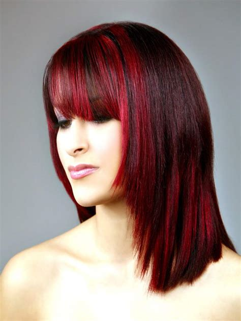 womens hair streaking trends hair colour streaks fashion from runway