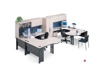 office workstation desk the office leader abco endure endconfig8 2 person u