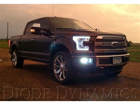 2016 f150 led lights 2015 2016 f150 anzo led outline projector headlights
