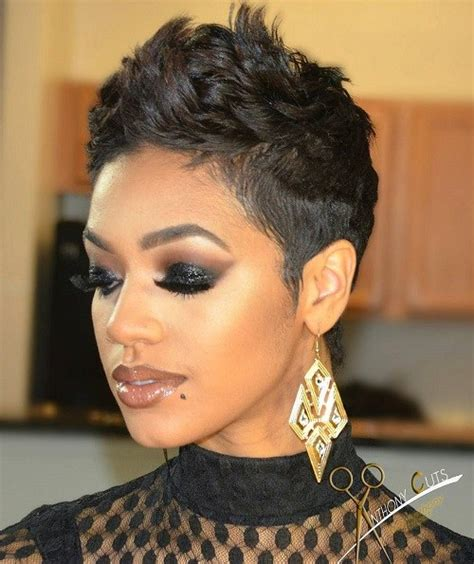 pixie haircuts for black women 60 great short hairstyles for black women