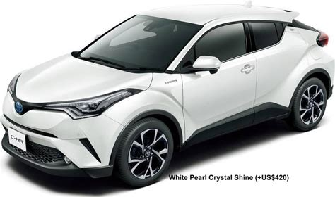 Toyota Colors New Toyota C Hr Colors Photo Exterior Chr Colour
