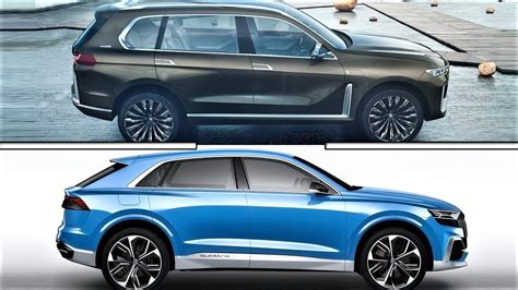 X7 Audi by 2018 Bmw X7 Vs Audi Q8 Concept