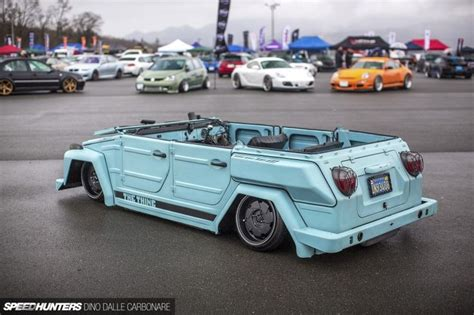 vw thing slammed the thing by dino dalle carbonare lowered pinterest