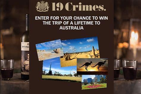Australia Sweepstakes - americas 19 crimes banishment to australia sweepstakes sweepstakesbible