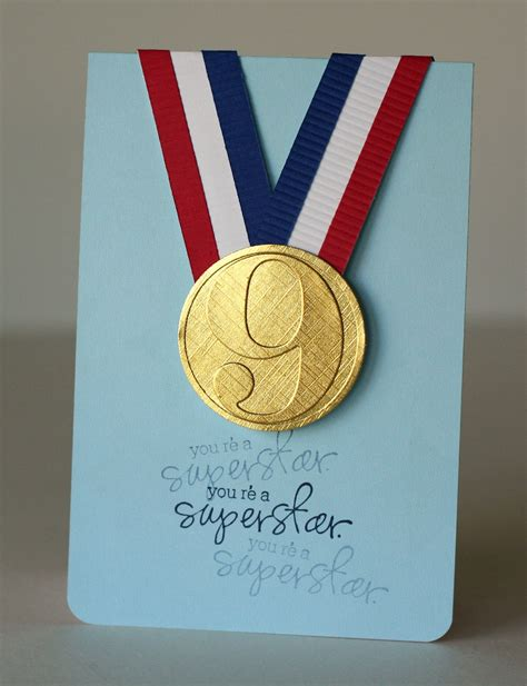 Handmade Medals - 1000 images about cards on birthday cards