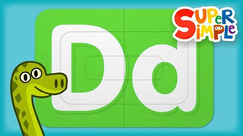 Alphabet Surprise | Turn & Learn ABCs | Learn Letter D ... D