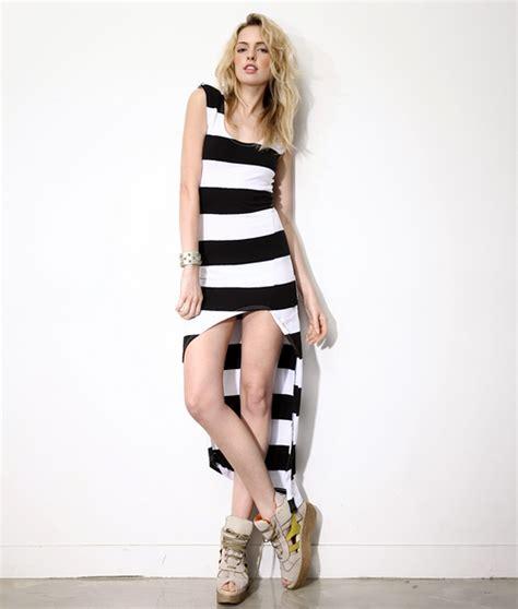 Maxi Rumbai By Ayu Fashion storets striped mullet maxi dress kstylick