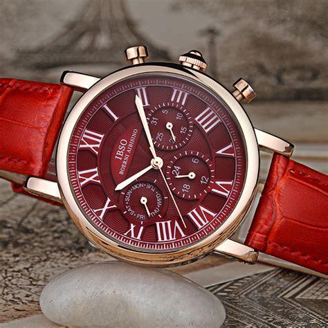 Jam Tangan Vintage ibso jam tangan analog vintage wanita 6813