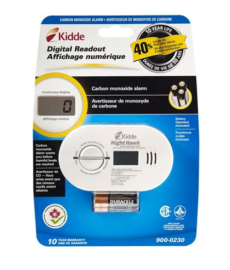 kidde digital co alarm battery operated the home depot