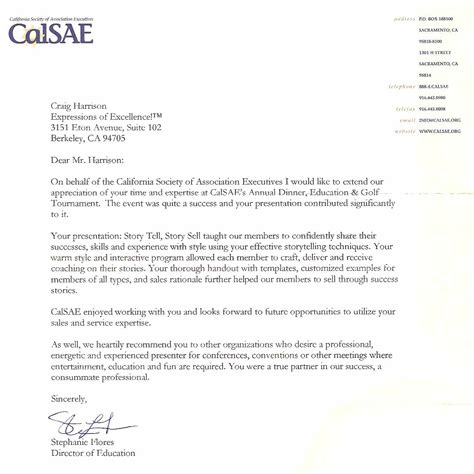 Menlo College Letter Of Recommendation Craig Harrison Espeakers