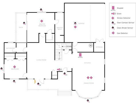 floor plan  security house plans