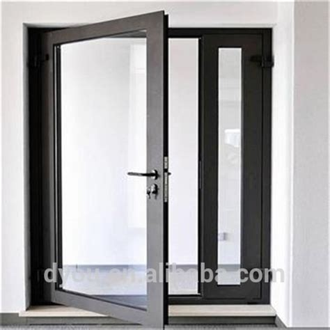 aluminum swing door new design glass aluminum double swing door buy double