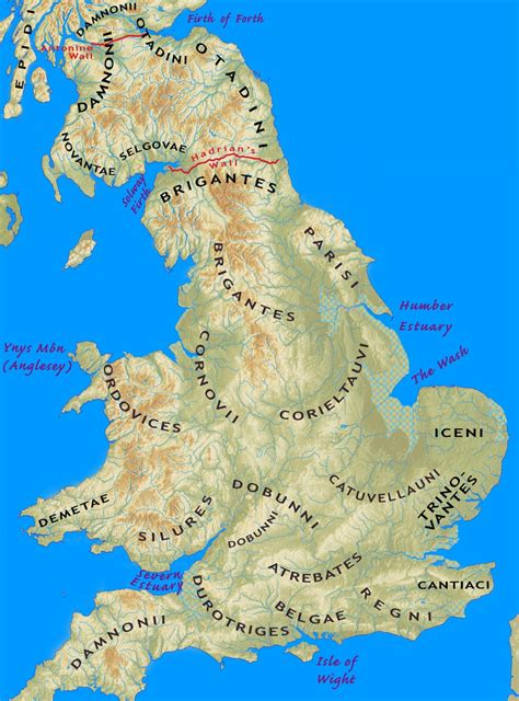 iron age tribes  southern britain