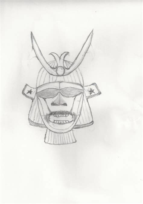 samurai mask template by rganonalith on deviantart