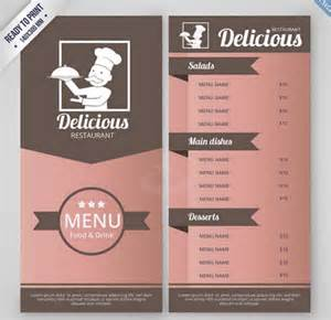Menu Template Doc by Doc 700434 Menu Design Template Restaurant Menu