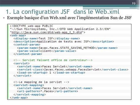 web xml exemple de web xml