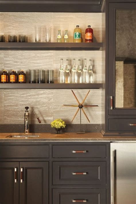replace kitchen cabinets with shelves replace current wet bar the color of these cabinets and