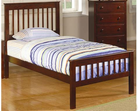 bed slats twin coaster furniture twin slat bed parker co400290set