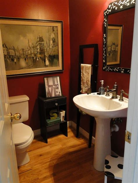 small red bathroom ideas 25 best ideas about red bathrooms on pinterest guest