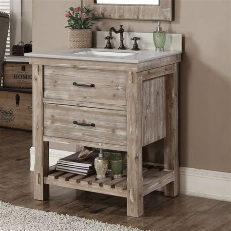 rustic bathroom vanity cabinets accos 30 inch rustic bathroom vanity with matching wall mirror