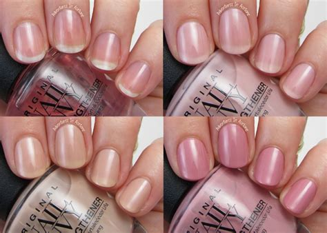 Opi Nail Envy by Swatch Saturday Opi Nail Envy Strength In Color