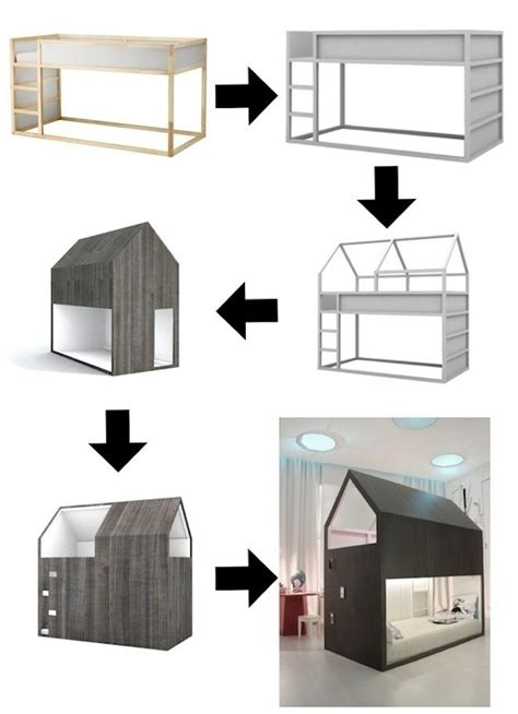 ikea bed hack 6 ways to customize the ikea kura bed petit small