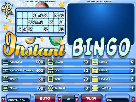 Instan Bergo instant bingo 90 bingo blowout free bingo