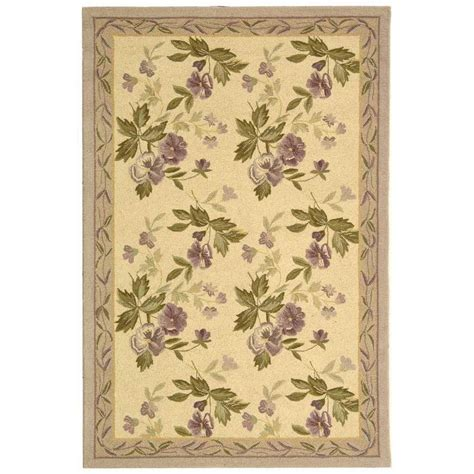 5 x 9 rug safavieh chelsea ivory 3 ft 9 in x 5 ft 9 in area rug hk54a 4 the home depot