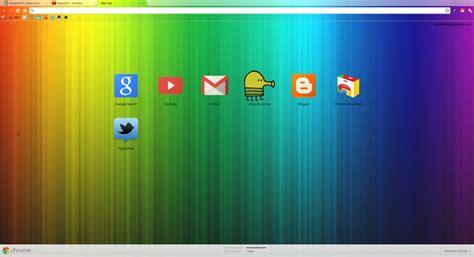 google themes rainbow rainbow google chrome theme by toxicswag on deviantart