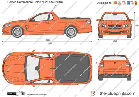 Scale Drawing Online the blueprints com vector drawing holden commodore