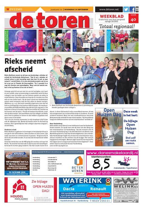 De Toren Week 49 2015 By Weekblad De Toren Issuu by De Toren Week 40 2015 By Weekblad De Toren Issuu