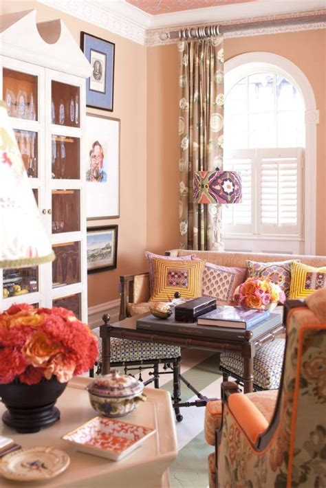 Two Colour Curtains Decorating Pin By Barbara Jean On Paint Colors Brownstone Living Rooms And