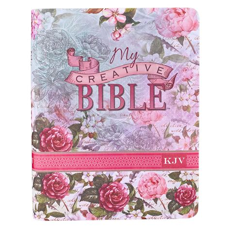 Journaling Bible In Silkyoral Kjv  Ee    Ee   Creative Bible