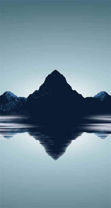 minimalist mountains cool minimalist iphone wallpapers the nology