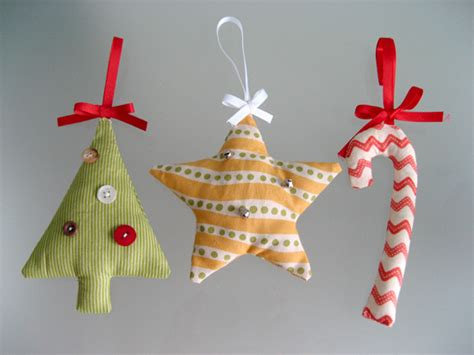 fabric christmas decorations hannah stothard