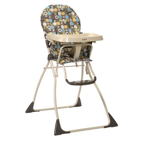 high chair cosco cosco 174 flat fold high chair into the woods by oj commerce 03354awv 66 54