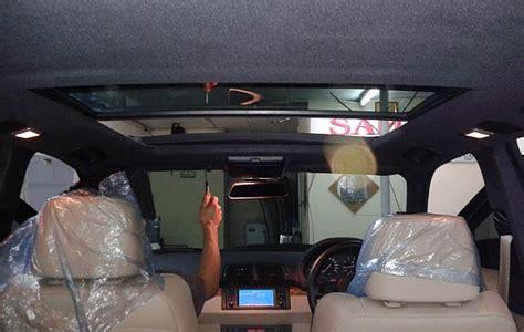 Tv Mobil Palembang rental mobil palembang global rent car plafon mobil turun perbaiki dengan pres orisinil