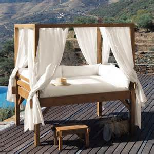outdoor bed 30 outdoor canopy beds ideas for a romantic summer freshome com