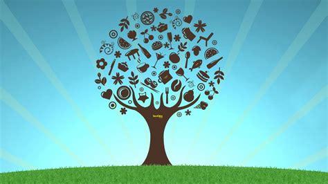 prezi background tree of ideas prezi template