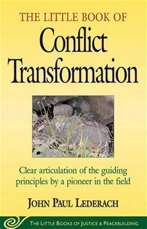 articulations books book of conflict transformation clear articulation