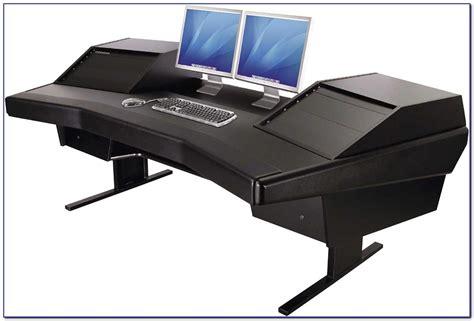 multi monitor computer desk multi monitor desktop computer desk home design ideas