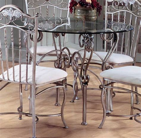 Glass Wrought Iron Dining Table Glass Dining Room Table Dining Table Wrought Iron Glass Dining Tables Tables Furnitures