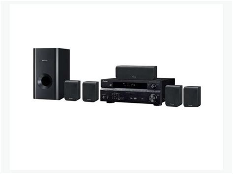 pioneer sx 217 5 1 home theater system receiver