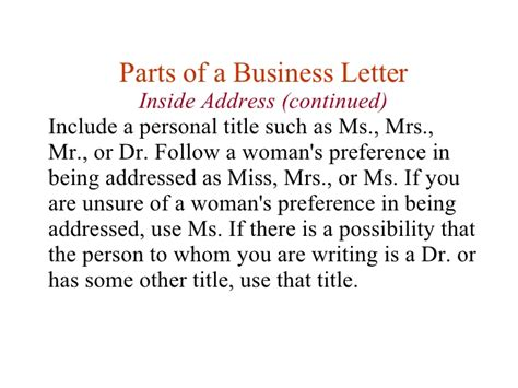 Business Letter Writing Mrs Miss Or Ms letter address format mr and mrs 28 images business