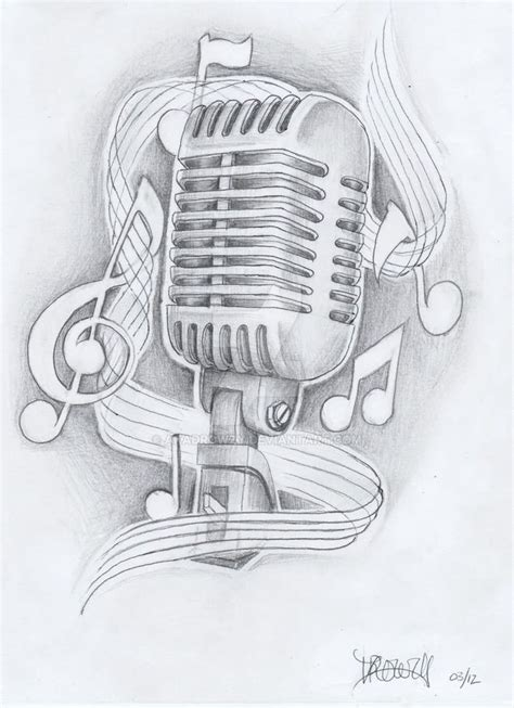 microphone tattoo outline 25 best ideas about music tattoo designs on pinterest