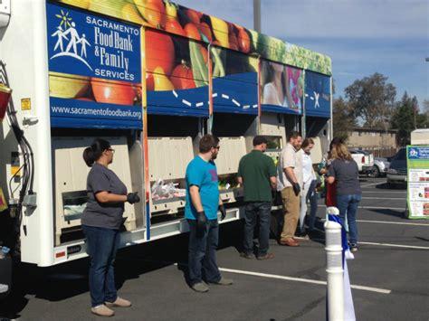 sacramento food bank sacramento food bank unveils new produce truck capradio org