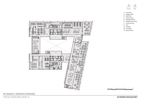 mit floor plans gallery of mit manukau transport interchange warren