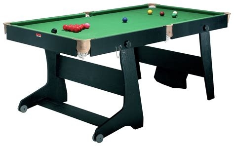 Folding Pool Table 6ft 6ft 6inch Folding Pool Table
